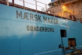 Det sjette ankerhåndteringsfartøyet skal leveres til Maersk i januar Foto: Helge Martin Markussen