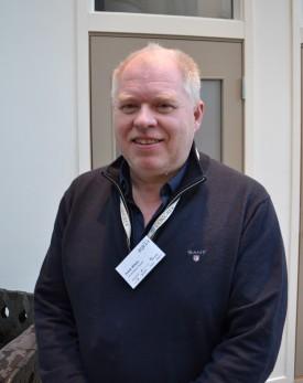 Frank Nilsen sa under aqKva at lusesenteret har gjort mye arbeid som har bragt kunnskap om lus fremover. Foto: Anette Elde Thomsen/Kyst.no.