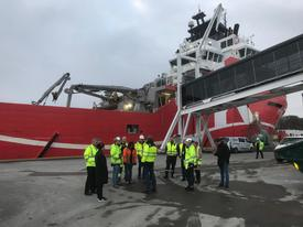 Mye skal være klart før årets cruisesesong tar til Foto: Sigbjørn Larsen