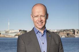 - Vi arbeider for at Oslo kan bli snuhavn for Viking Cruises, sier havnesjef Ingvar Mathisen til Skipsrevyen. Foto: Turid Poppe.
