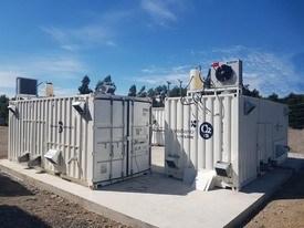Los generadores de oxígeno están en pleno proceso de instalación. Foto: Vard Chile.