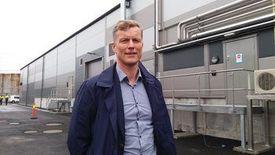 Bernt Olav Røttingsnes, CEO de Nordic Aquafarm. Foto: Harrieth Lundberg