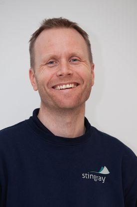 Espen Børrud leder for programvareutviklingen i Stingray Marine Solutrions AS. Foto: Stingray Marine Solutions AS