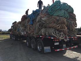 Las bodegas de acopio de Recollect se encuentran en Puerto Montt. Foto: Recollect.