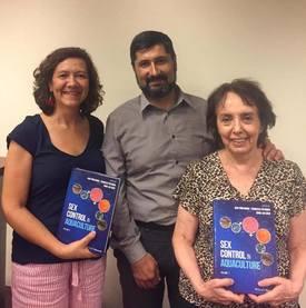 Natalia Lam, Cristián Araneda y Patricia Iturra, publicaron un capítulo en el libro