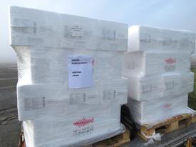 Cajas con salmón fresco que irán directamente Puerto Montt-Shanghái.