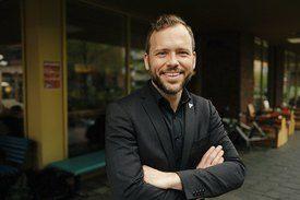 SV-leder Audun Lysbakken. Foto: Åsmund Holien Mo