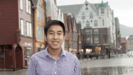 Bryton Shang, director ejecutivo de Aquabyte. Foto: Pal Mugaas, Kyst.