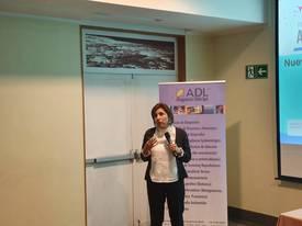 Dra. Carla Rosenfeld, académica e investigadora de la UACh. Foto: Salmonexpert.