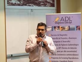 Álvaro Sandoval, investigador de ADL. Foto: Salmonexpert.