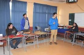 En el taller participaron docentes del Liceo Técnico Profesional Filidor Gaete de la localidad de Llico. Foto: INCAR
