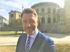 - Arbeiderpartiet vil satse mer på de områdene vi har fortrinn, sier Terje Aasland til Skipsrevyen. Foto: Sigbjørn Larsen.