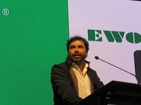 Andrés González, Feed Consultant de Agua Dulce de Cargill. Foto: Salmonexpert.