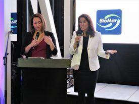 Jill Kauffman, jefe de desarrollo del mercado global de Corbion. Foto: Salmonexpert.