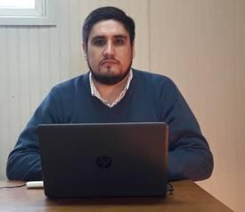 Julio Lienlaf, jefe comercial zona sur Resiter. Foto: Resiter.