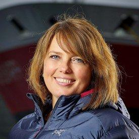 - Vi er glade for løsningen, sier Anne- Marit Bjørnflaten i Hurtigruten. Foto: Hurtigruten.