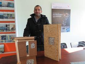 Claudio Castillo, socio fundador de Boot Panel. Foto: Karla Faundez, Salmonexpert.