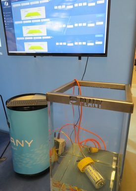 Software Lamp Control. Foto: Karla Faundez, Salmonexpert.