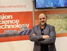 Fundador de Salmoclinic, Hans Kossmann. Foto: Salmoclinic.