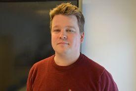 Mads Martinsen, director de desarrollo de productos en Skretting Noruega. Foto: Ole Andreas Drønen.