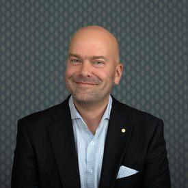 Konsernsjef i Fjord Line Rickard Ternblom. Foto: Styrk Fjærtof