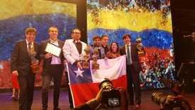 Empresas chilenas ganadoras en los Premios Latinamérica Verde. Foto: Cristian Emhart.