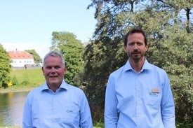Roar Olsen og André Bratland er nye medarbeidere hos MSD Animal Health