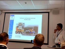Lars Speilberg i ScanVacc holdt seminarer om sedasjon ved termisk avlusning