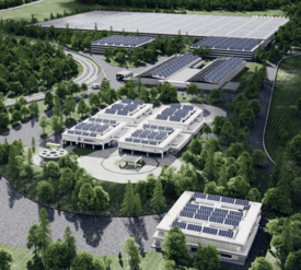 AquaMaof is the technology partner for all of Pure Salmon's proposed RAS facilities, including this one in Japan. Image: Pure Salmon.