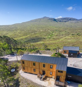 The accommodation is said to offer exceptional levels of insulation, airtightness and sustainability. Click on image to enlarge. Photo: Mowi Scotland.