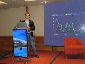 Pieter Fabry, co-fundador de Observe Technologies. Foto: Karla Faundez, Salmonexpert.