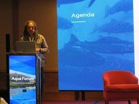 Dr. Sunil Kadri, director de Desarrollo de Negocios Internacionales de CageEye. Foto: Karla Faundez, Salmonexpert.