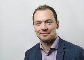 Tom-Jørgen Gangsø: The NOK's fall against the US dollar has helped sales in dollar markets.