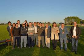 La CEO de Skretting se reunió con los representantes de las principales salmonicultoras del país. Foto: Skretting Chile.