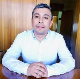 Alejandro Santibáñez, presidente de la Multisindical de Trabajadores Salmoneros Ramas Afines y Pesquerías. Foto: Archivo Salmonexpert.