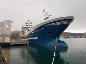 MS «Kvannøy» ble bygget ved Karstensen Skibsvæft i Skagen, og levert til rederiet i 2015