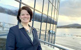 HR-direktør i Havila Kystruten, Monica Nipen,  er glad for at alle blir med over til det nye selskapet. Foto: Havila Kystruten