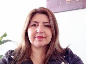 Paola Sanhueza, presidenta del sindicato nacional Salmones Blumar y de Fetrasalmon. Foto: Archivo Salmonexpert.