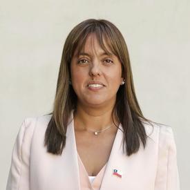 Leticia Oyarce, intendenta (s) región de Los Lagos. Foto: Ministerio del Interior.