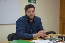 Ismael Infante, gestor del PTI. Foto: Corfo Aysén.