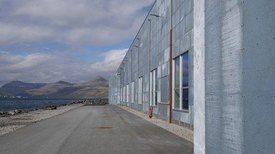 Bakkafrost tiene como objetivo procesar 500 toneladas por día en su planta de Glyvrar. Foto: FFE.