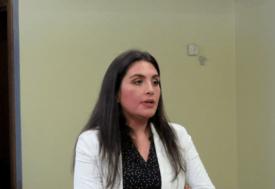 Paola Olmos, investigadora del Departamento de Salud Hidrobiológica del IFOP. Foto: Archivo Salmonexpert.