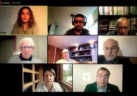"""Lanzamiento virtual del libro """"La revolución azul: acuicultura en Chile y Perú""""."""