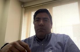 Gerente de Sustentabilidad de Fiordo Austral, Pedro Chávez. Foto: Cedida.