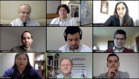 Participantes y expositores de actividad sobre potencial del hidrógeno verde para la macrozona sur.