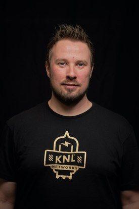 Toni Lindén, Administrerende direktør i KNL Networks. Foto: KNL Networks
