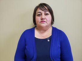 Marta Oyarzo, vocera de la Coordinadora Nacional de Trabajadores de la Industria Salmonera y Ramas Afines. Foto: Archivo Salmonexpert.