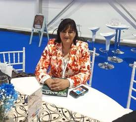 Elizabeth Pulgar, presidenta del Sindicato Inter Empresas de Salmones Austral. Foto: Archivo Salmonexpert.