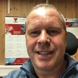 Per Ivar Willumsen er prosjektleder for bygg 93 hos Fosen Yard. Foto: Privat