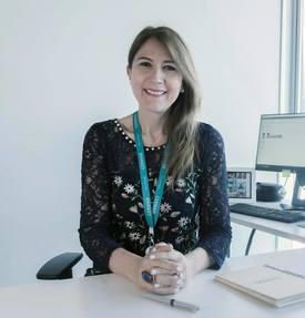 Paula Hojas, gerente de Gestión de Personas de Cermaq, comenta que están